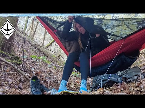 Winter Backpacking 100 Miles With A Hammock