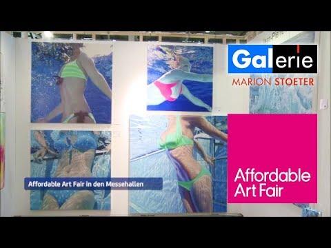 Galerie Stoeter auf der Affordable Art Fair 2017 in Hamburg