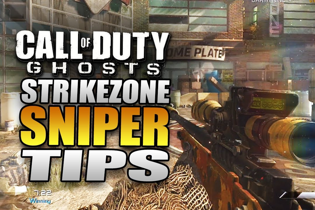 Call of Duty: Ghosts Quickscoping Gameplay Strikezone Tips ...