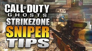 Call of Duty: Ghosts Quickscoping Gameplay Strikezone Tips! Multiplayer Gameplay on Xbox One