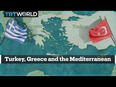 The Turkey-Greece Mediterranean dispute explained