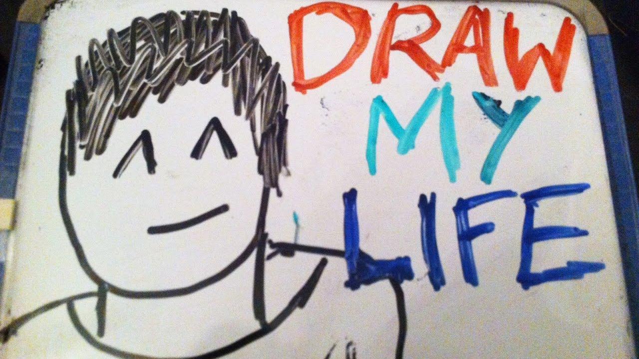 Draw My Life Amazingphil Youtube