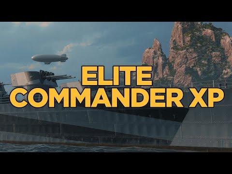 World of Warships - Elite Commander XP
