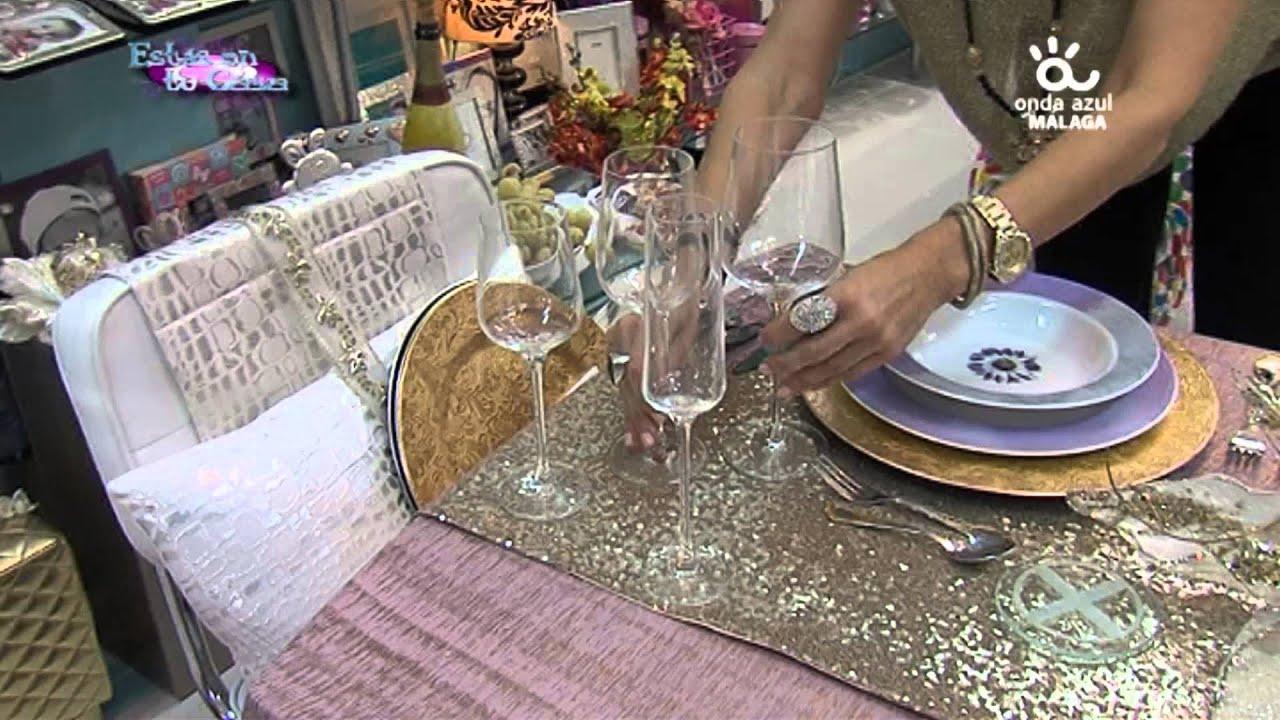 Como decorar una mesa de navidad youtube - Como decorar la mesa en navidad ...