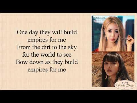 Wengie - Empire (왕국) feat. Minnie (Easy Lyrics)