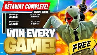 Fortnite - The Getaway!!! - High Stakes!!! - HOW TO WIN!!! - EASY WAY TO WIN!!! - WEEK 3!!!