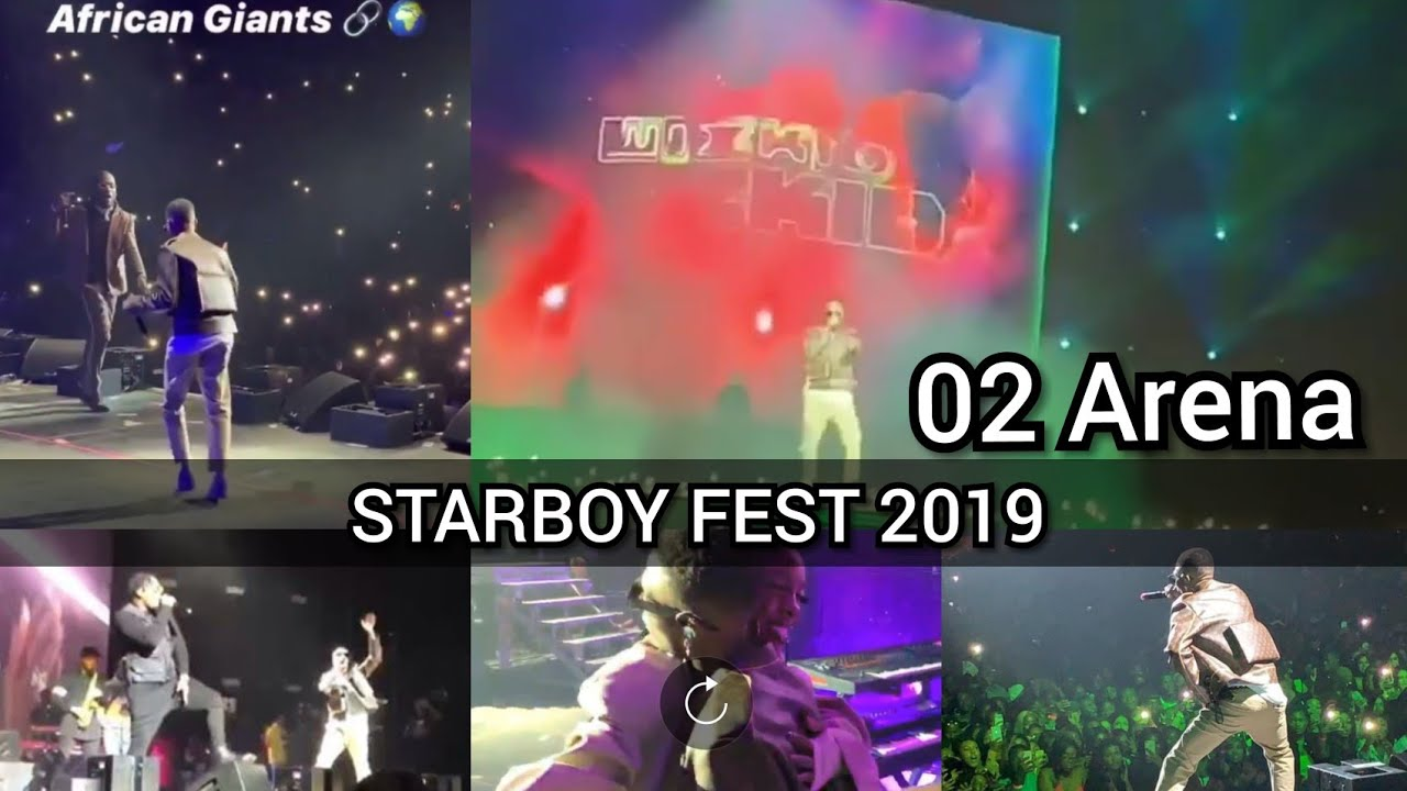 #Starboy fest Wizkid 02 Arena 2019, Tiwa savage, Burna boy, Naira Marley, Runtown FULL VIDEO