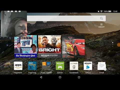 How to livestream on kindle fire
