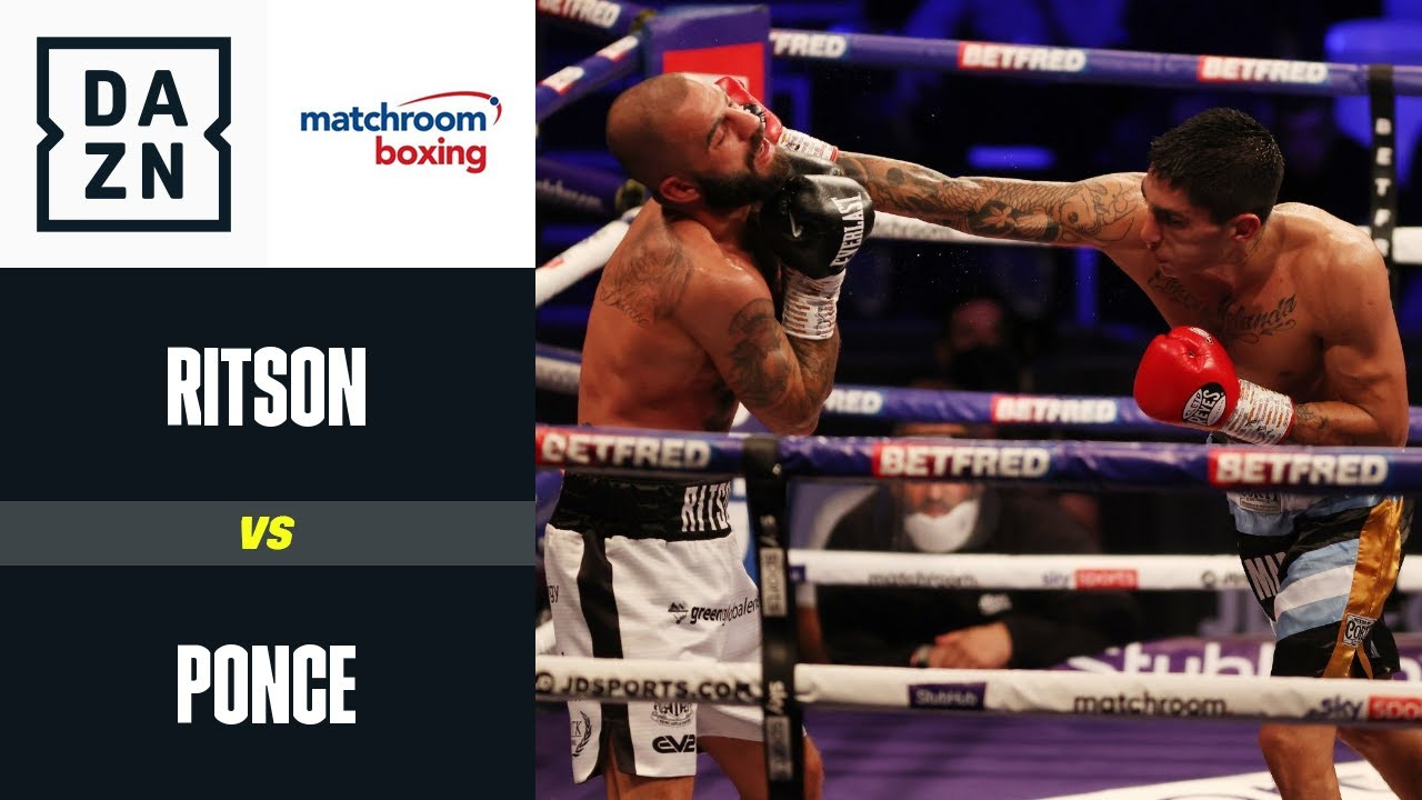 Ritson vs Ponce | Matchroom Boxing | DAZN Highlights