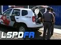 GTA V : MOD POLICIA : PERSEGUIÇÃO E TIROTEIO A NOITE COM A PMSP - EP# 125