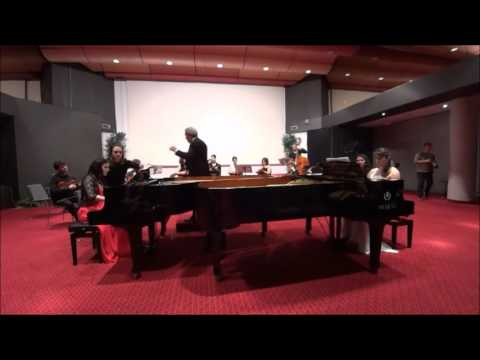 Blandine Waldmann and Loredana Lentini plays BACH Concerto BWV 1060 Adagio