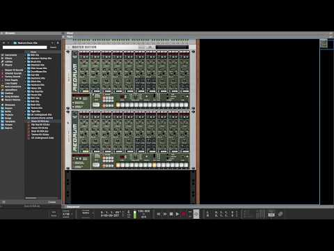 Hacking Reason's Redrum Patterns in Logic Pro X   AudioSEX