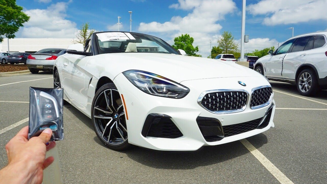 2019 Bmw Z4 Sdrive30i Start Up Exhaust Test Drive And Review