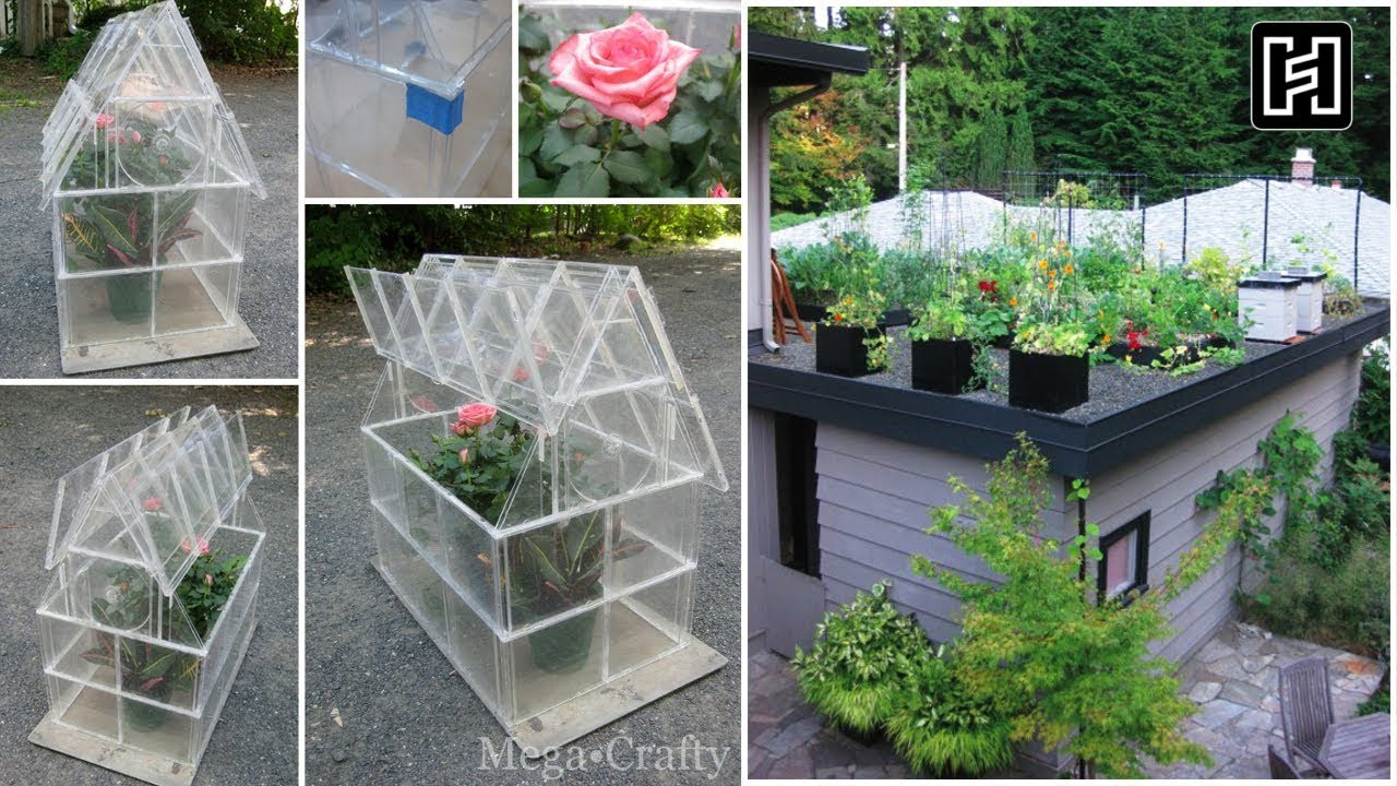 5 DIY Organizing Ideas for Rooftop Garden  - YouTube