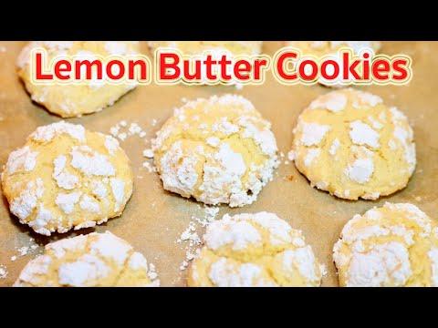 Lemon Butter Cookies Recipe : แจกสูตรคุกกี้มะนาวเนยรสเด็ด