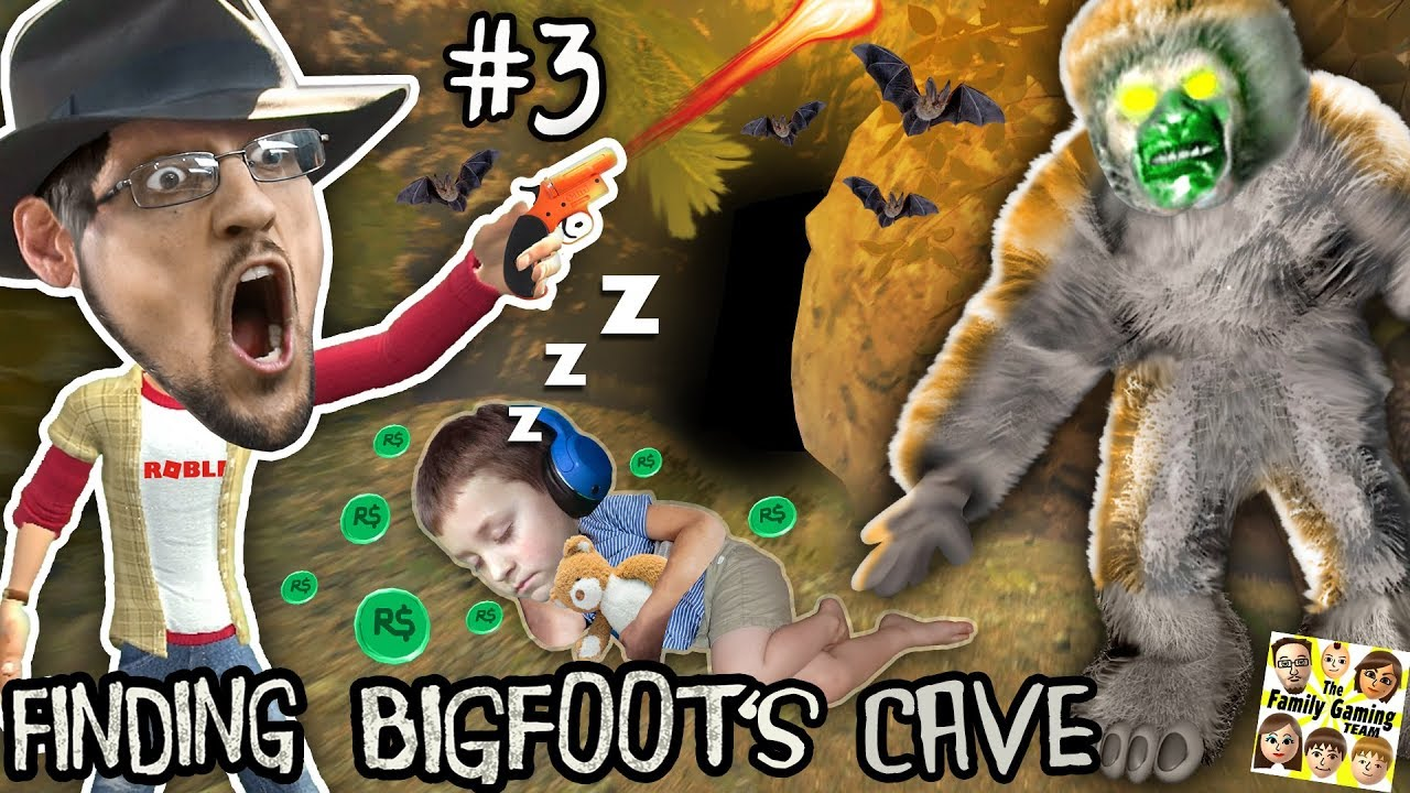 Finding Big Foots Cave W Sleepy Chase Prank Fgteev 3 Free