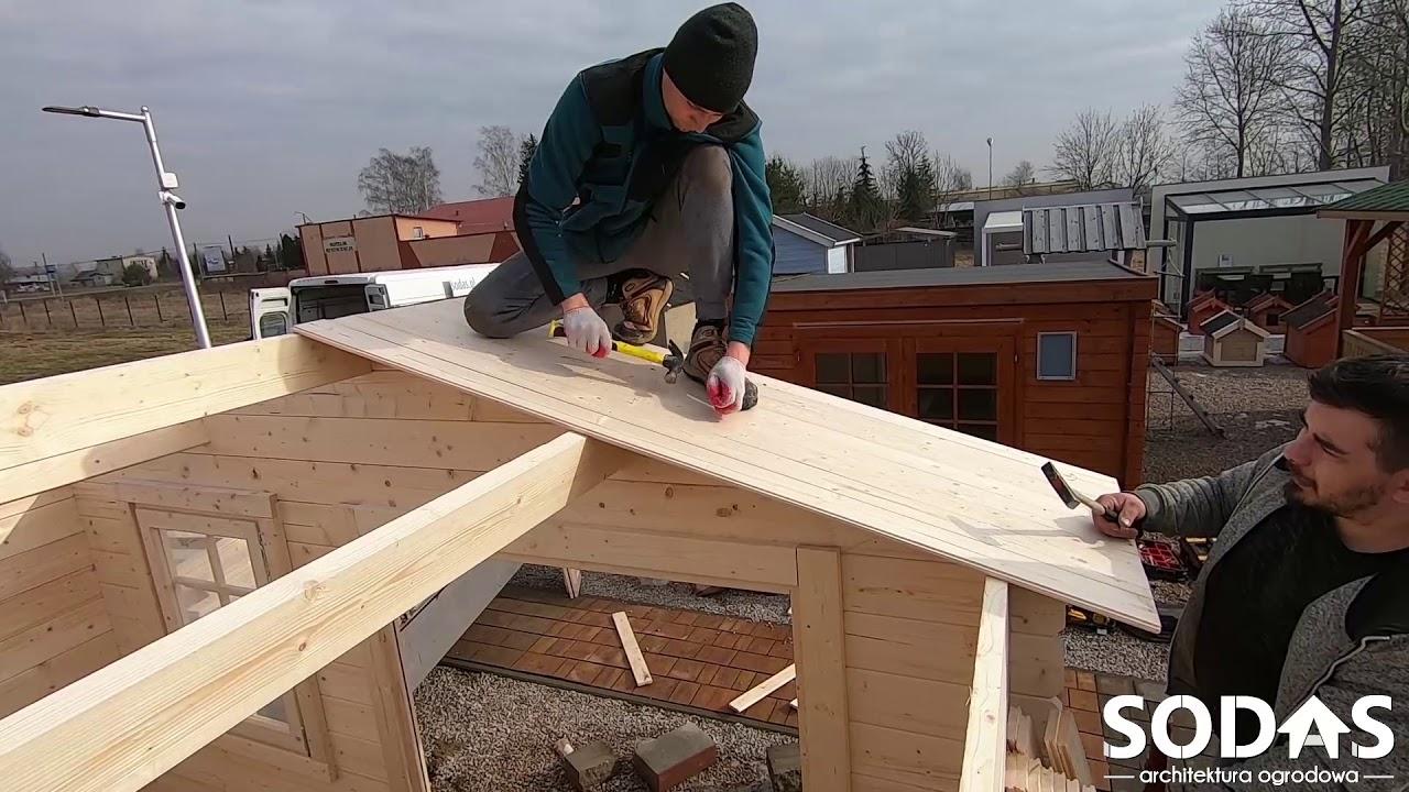 Download Szczegółowy montaż domku drewnianego 3,5x3,0m (Instrukcja montażu)