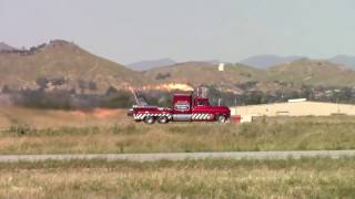 Smoke-N-Thunder Jet Truck Race With John Collver's T-6