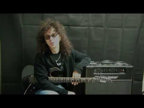Patrick Rondat chez Chris Music - Interview + Demo Ibanez & Blackstar