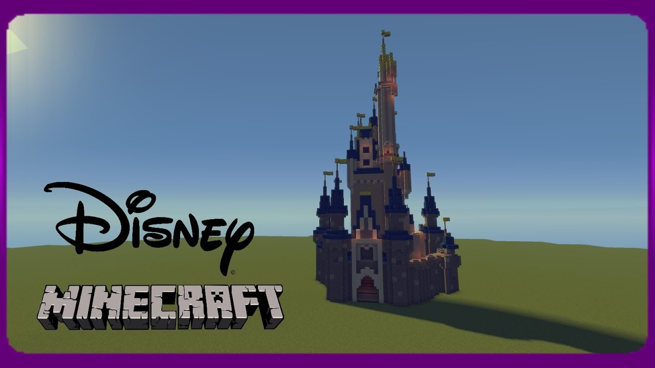 Minecraft One Day Builds Cinderella S Castle Youtube