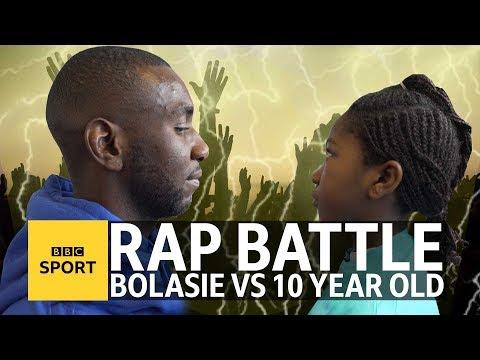 Yannick Bolasie's rap battle with 10-year-old schoolgirl - BBC Sport