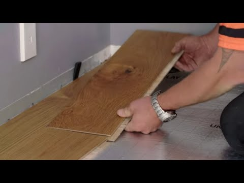 How to Install Click Together Flooring | Mitre 10 Easy As