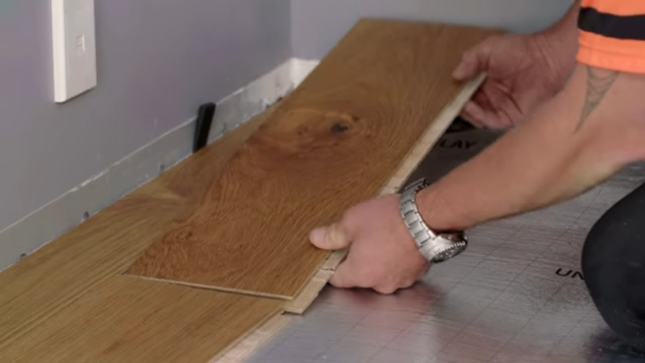 How To Install Click Together Flooring Mitre 10 Easy As Diy