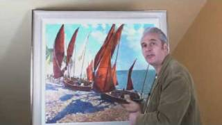 Artist John Hammond West Country studies