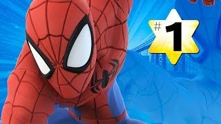 Прохождение Disney Infinity 2.0 Человек паук #1 Начало игры(Вот и прохождение игровой арены Человек паук в детской игре для мальчиков Disney Infinity 2.0 Супергерои Марвел..., 2014-11-13T14:00:20.000Z)