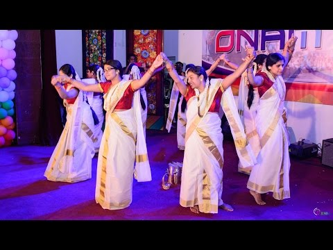 Fusion Thiruvathira by PDA Ladies