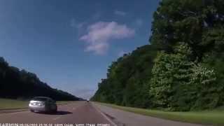 Rush-hour Little Rock, Arkansas to Searcy, Arkansas 2015-05-26