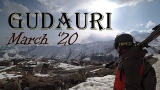 Гудаури март 2020 2 Закрытие сезона Gudauri ski resort 2020