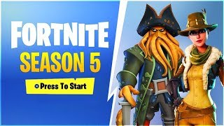 NEW SEASON 5 BATTLE PASS SKINS! (Fortnite: Battle Royale Season 5 Theme Leaked)