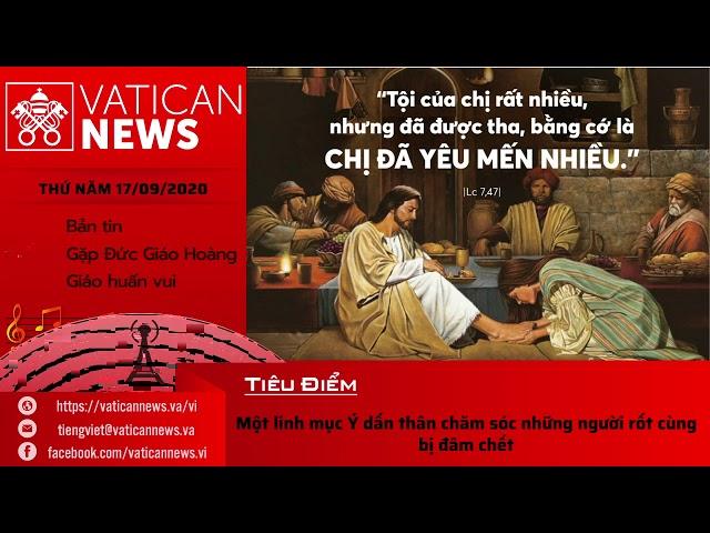 Radio: Vatican News Tiếng Việt thứ Năm 17.09.2020