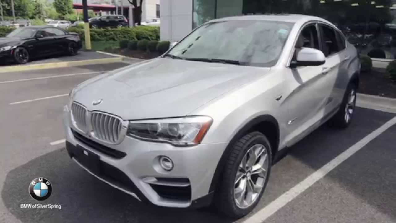 2016 bmw x4 xdrive28i bmw of silver spring youtube. Black Bedroom Furniture Sets. Home Design Ideas