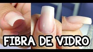 UNHAS DE FIBRA DE VIDRO - TUTORIAL DETALHADO