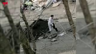 Видео из двора набирает популярность в Сети
