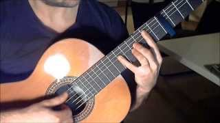 Main Theme - Metal Gear Solid 3: Snake Eater (Outro) on Guitar