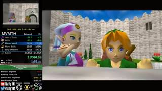 Ocarina of Time 100% Speedrun in 3:53:33