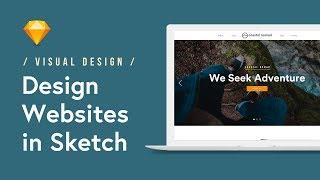Design a Website Landing Page in Sketch (Tutorial) 🖥