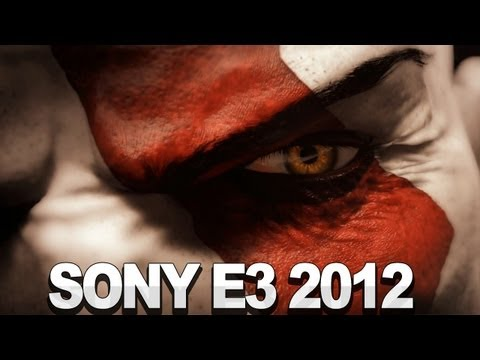 Full Sony E3 2012 Press Conference - Beyond The Last Of Us Playstation All Stars Vita God Of War