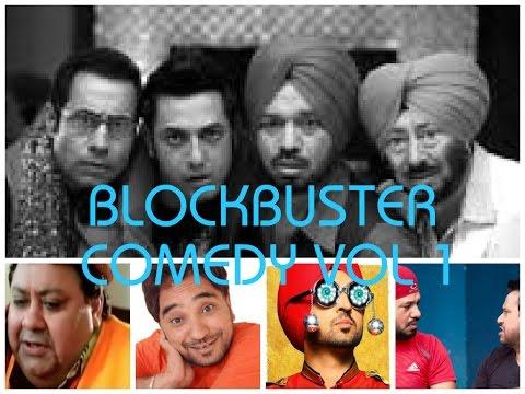 Punjabi Comedy Vol-1    Jaswinder Bhalla    Binnu Dhillon    Gurpreet Ghuggi    Punjabi Funny Scenes