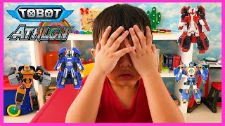 Mainan Petak Umpet Sama Tobot Athlon Alpha Beta Theta Rocky & Mach W Robot Transformers