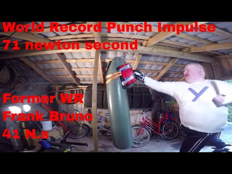 World Record: Punch Impulse 71 newton second