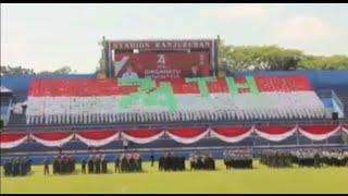 Download Mp3 Koreo Hut 74 Tahun Ri Di Stadion Kanjuruhan Malang