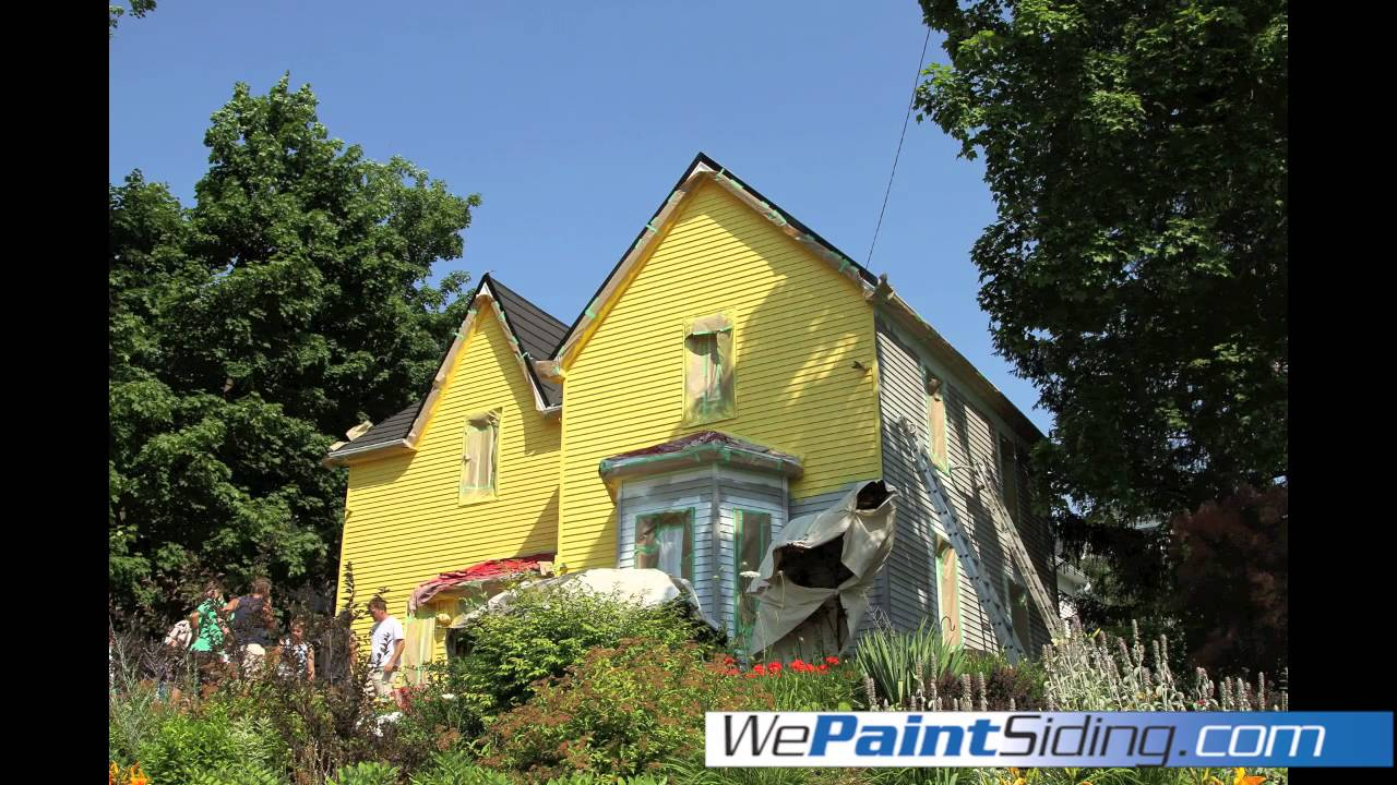 We Paint Siding | Hamilton, Burlington, Guelph, Kitchener