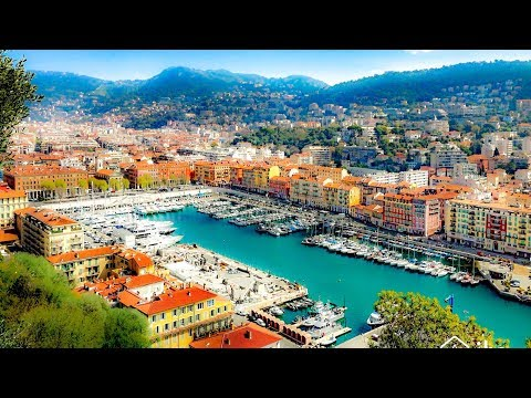 A Walk Around the Yachts at the Port of Nice, France