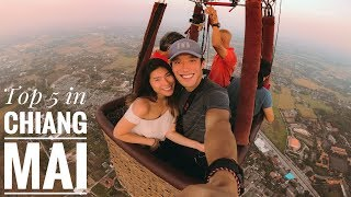 Top 5 MUST DO In CHIANG MAI (Thailand) - Vlog #109