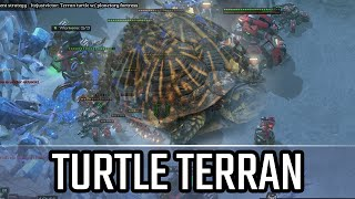 turtle terran l starcraft 2 legacy of the void ladder l crank