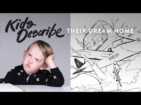 Desmond Describes his Dream Home to Koji the Illustrator   Kids Describe   HiHo Kids